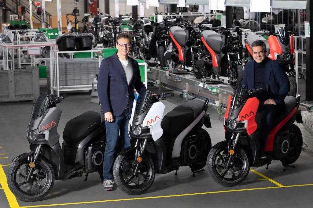 SEAT MO eScooter 125 production Silence plant