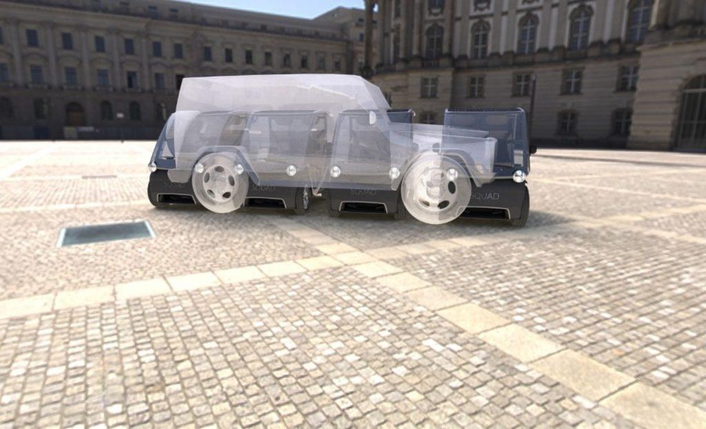 Squad Solar City Car footprint vs SUV
