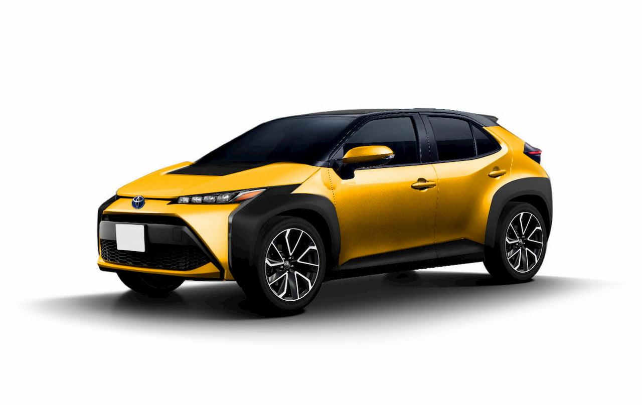 Toyota BEV electric SUV patent image