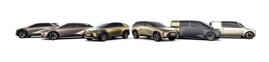 Toyota announced 6 electric cars for global deployment