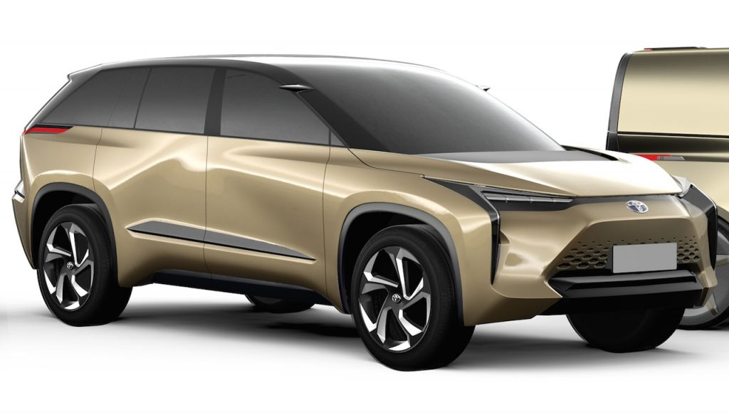 Toyota electric vehicle concept front