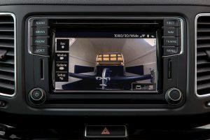 VW Sharan infotainment system