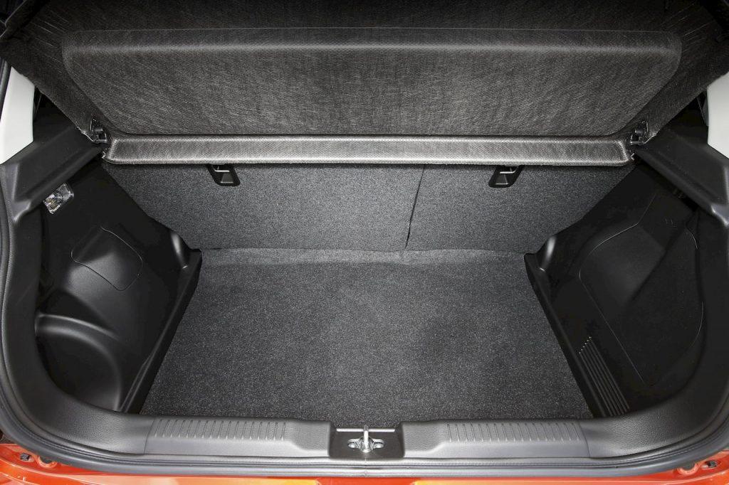 2020 Suzuki Swift Sport Hybrid boot space volume official image