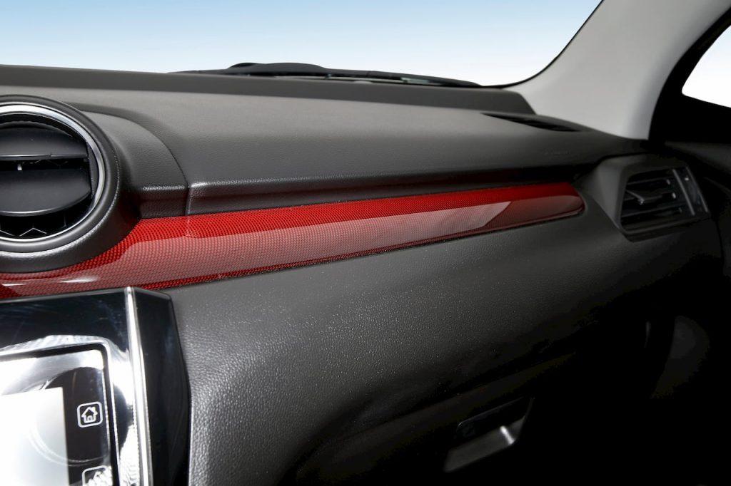 2020 Suzuki Swift Sport Hybrid dashboard trim official image