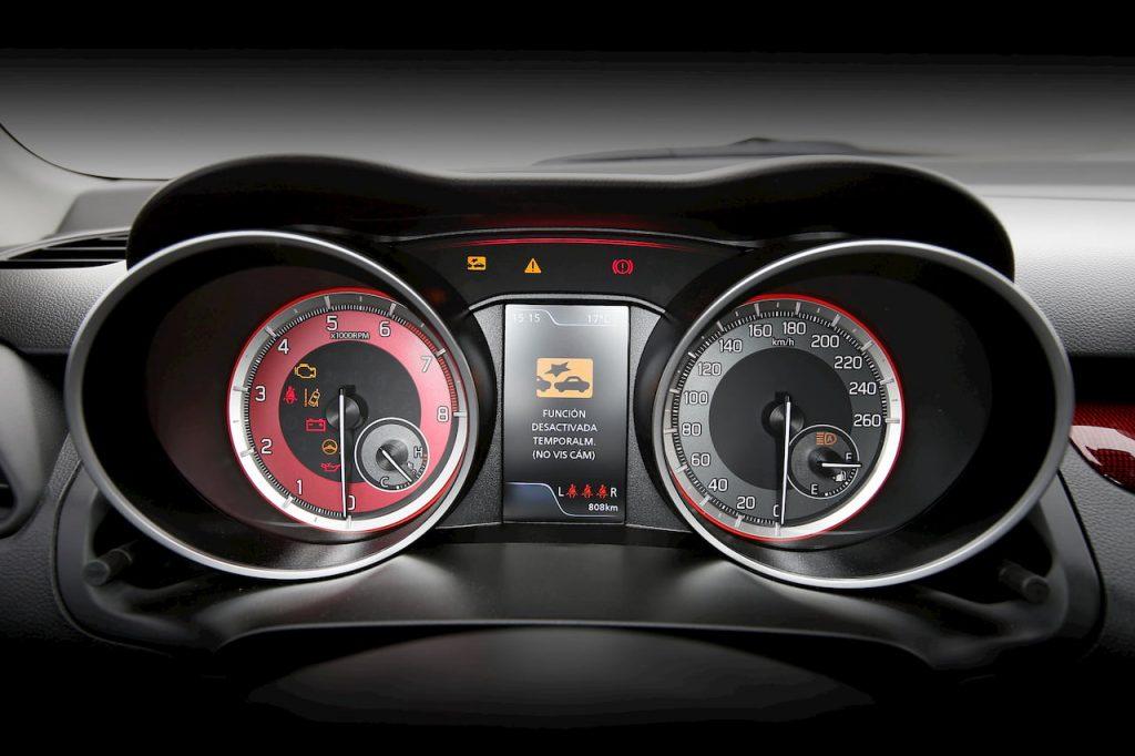 2020 Suzuki Swift Sport Hybrid instrument cluster official image