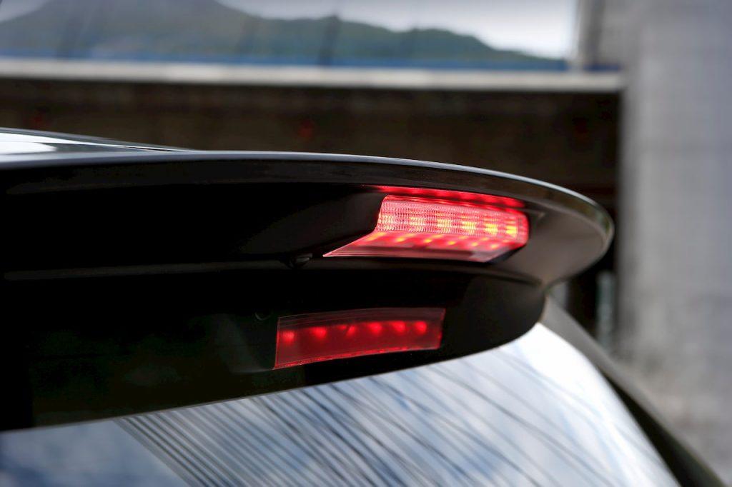 2020 Suzuki Swift Sport Hybrid rear spoiler official image