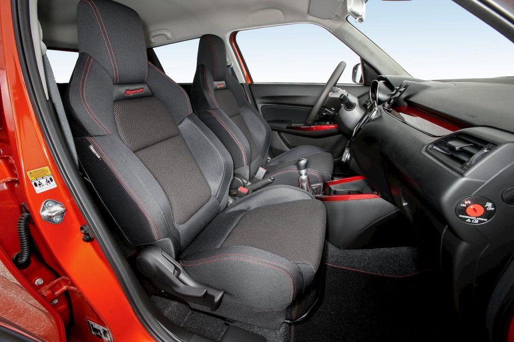 2020 Suzuki Swift Sport Hybrid sport seat official image