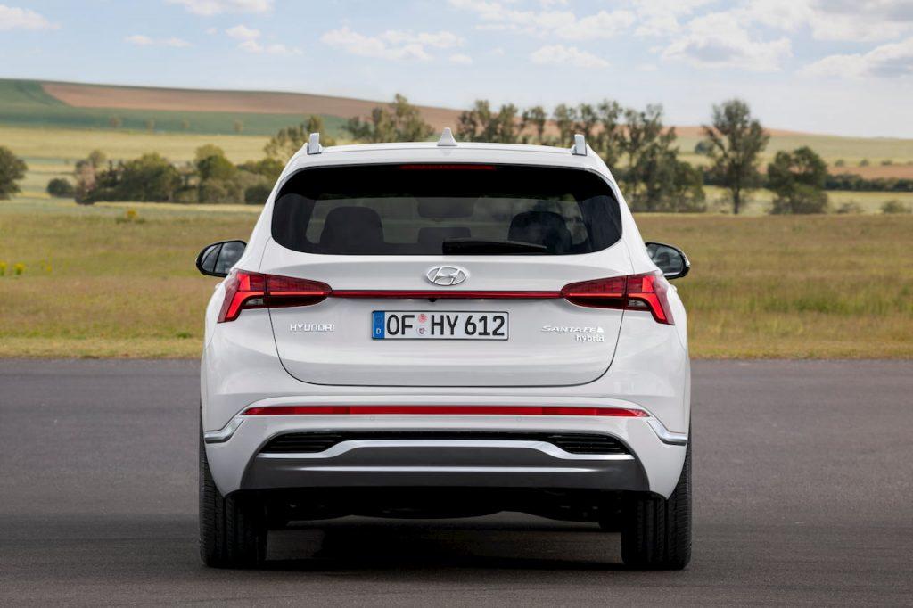 2021 Hyundai Santa Fe Hybrid rear