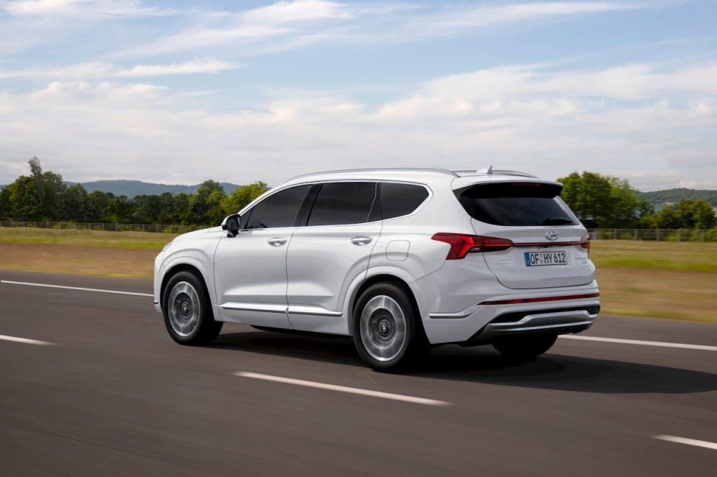 2021 Hyundai Santa Fe Hybrid release