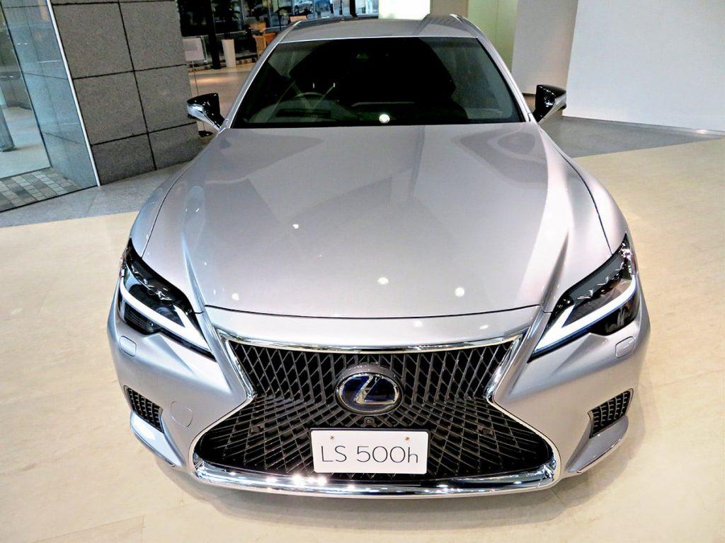 2021 Lexus LS 500h hybrid facelift front