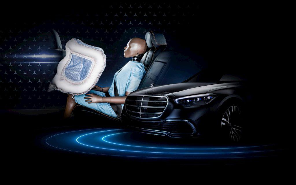 2021 Mercedes S-Class W223 rear-seat airbag