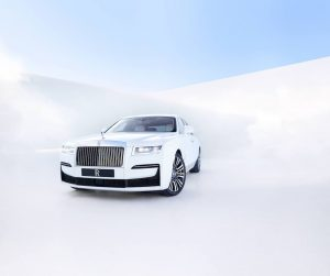 2021 Rolls-Royce Ghost front quarters