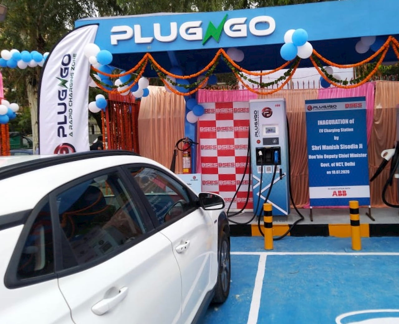 ABB fast charger Delhi