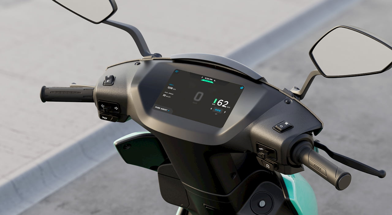 Ather 450X display official image