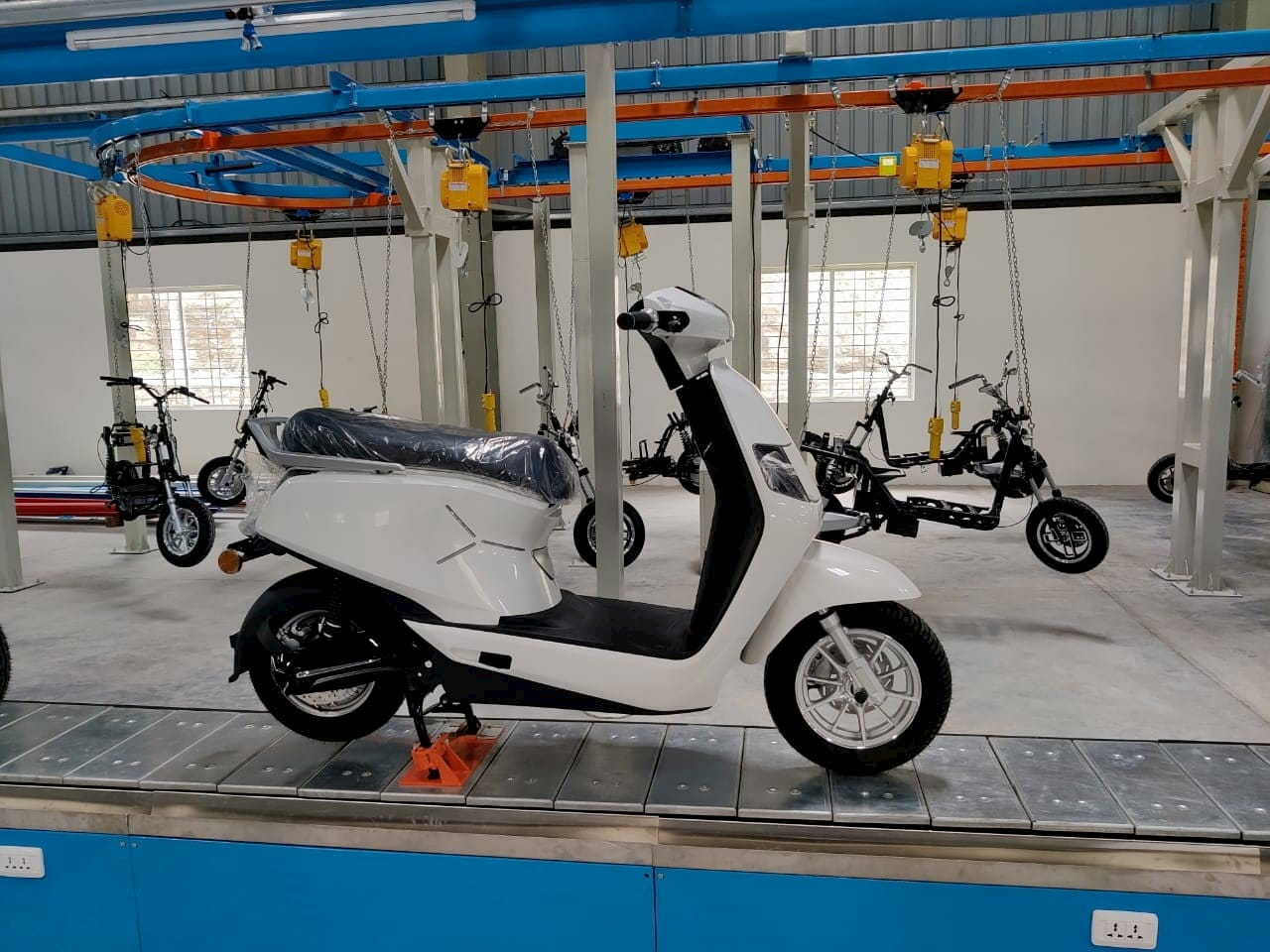 BGAUSS electric scooter plant inauguration