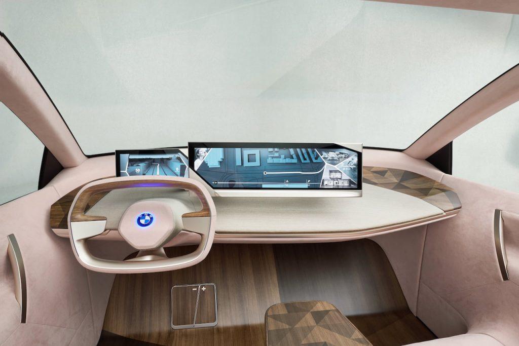 BMW iNEXT interior dashboard