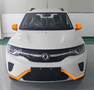 Dongfeng EX1 special edition front EVW