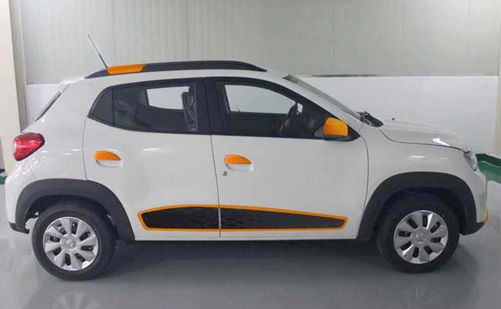 Dongfeng EX1 special edition side EVW