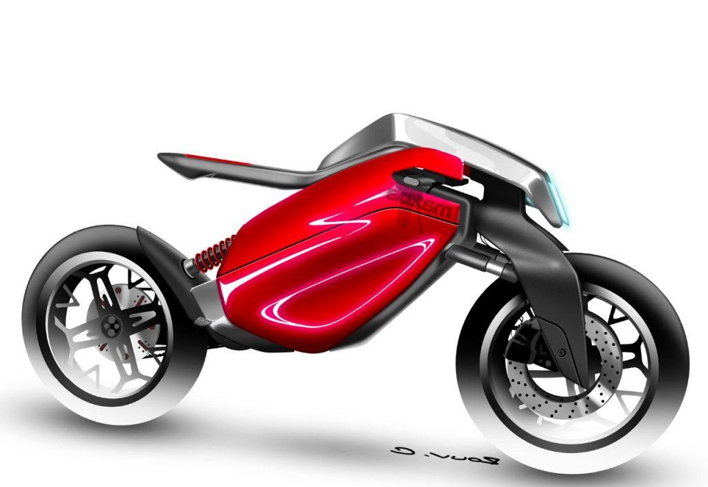 E-Mazda Bike Project side view 02