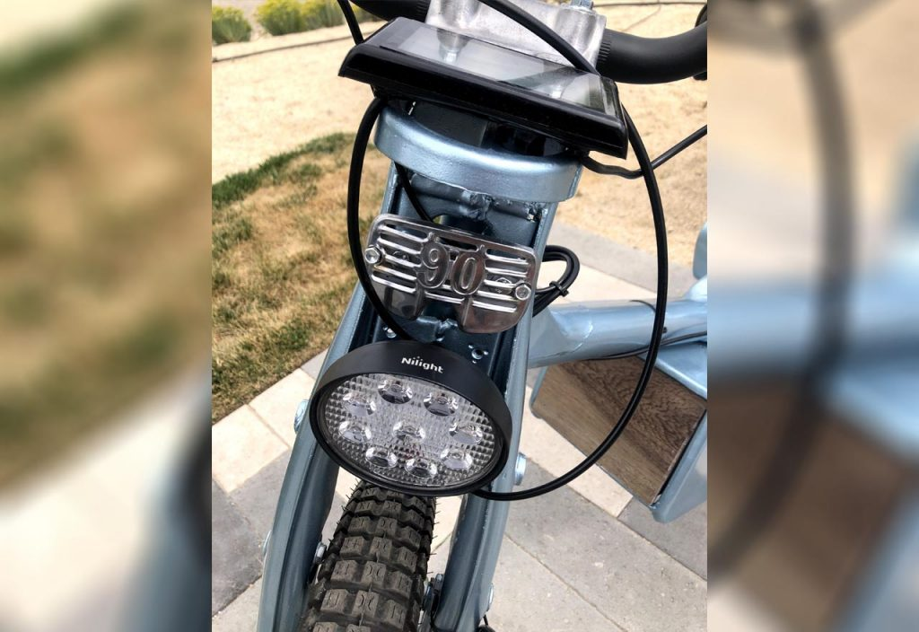 Honda CT90 Electric Josh Chauvet headlamp