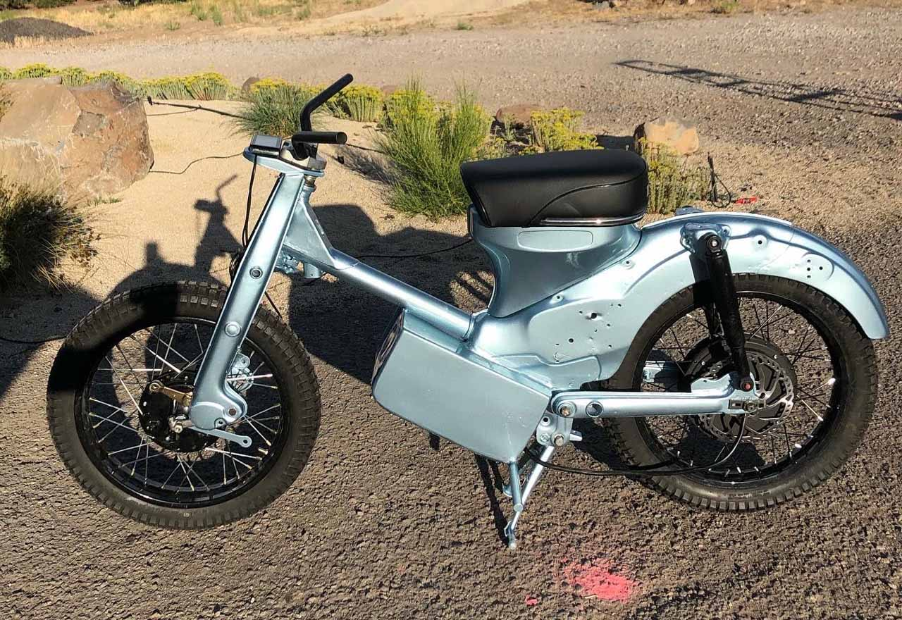 Honda Ct90 Moped Electric Conversion Here S How It Went