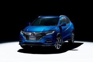 Honda HR-V (Honda Vezel) front quarters