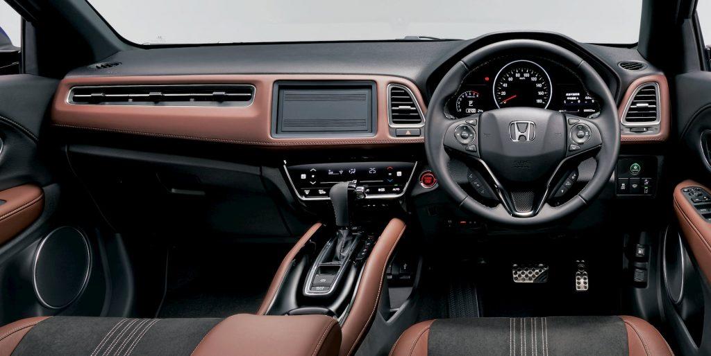 Honda HR-V (Honda Vezel) interior dashboard
