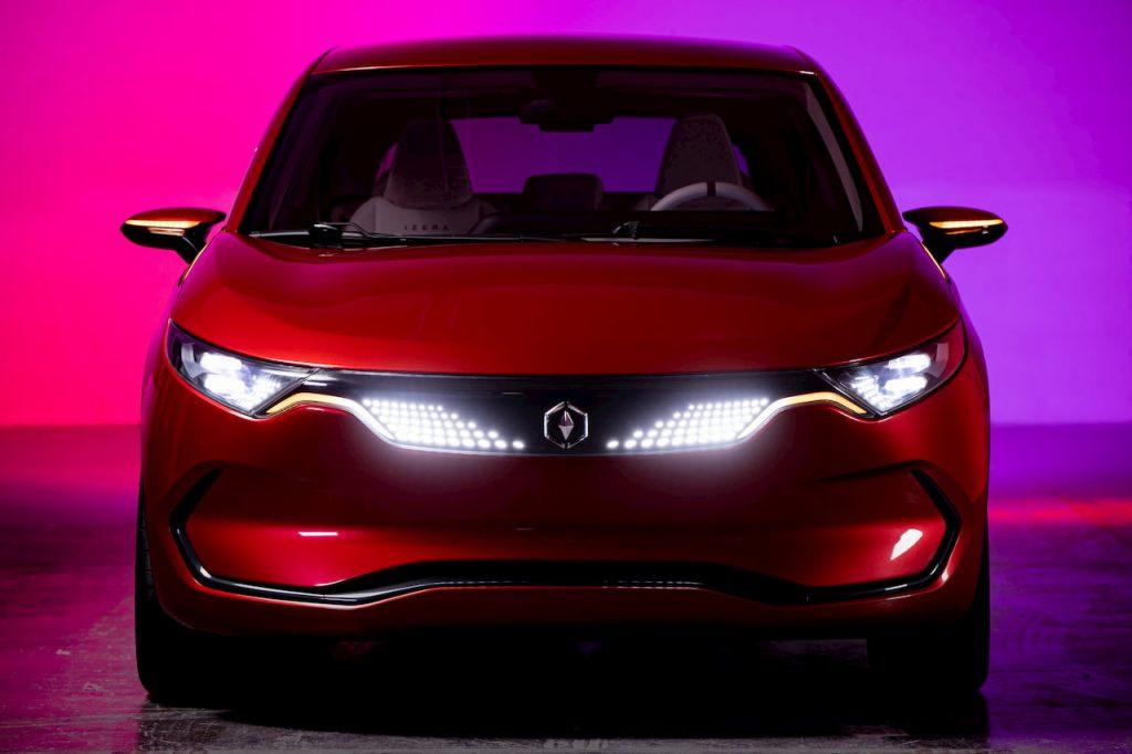 Izera electric hatchback front