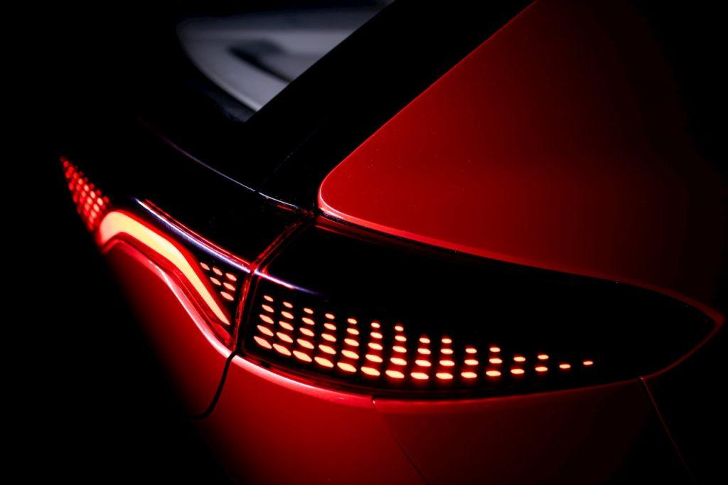 Izera electric hatchback tail lamp EVW