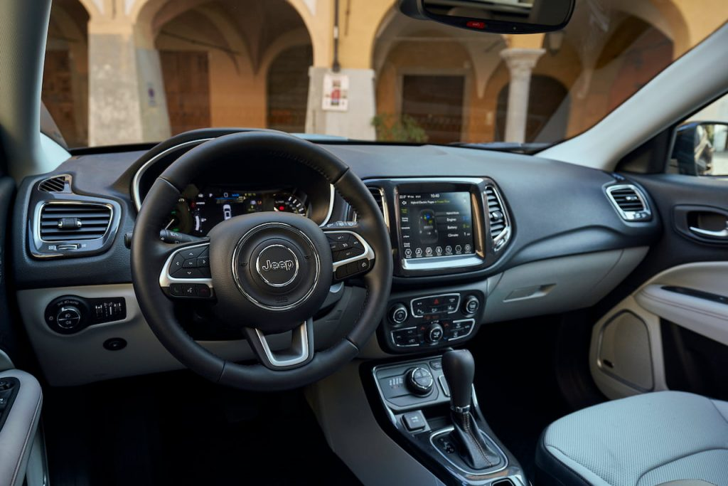 Jeep Compass 4xe plug-in hybrd interior