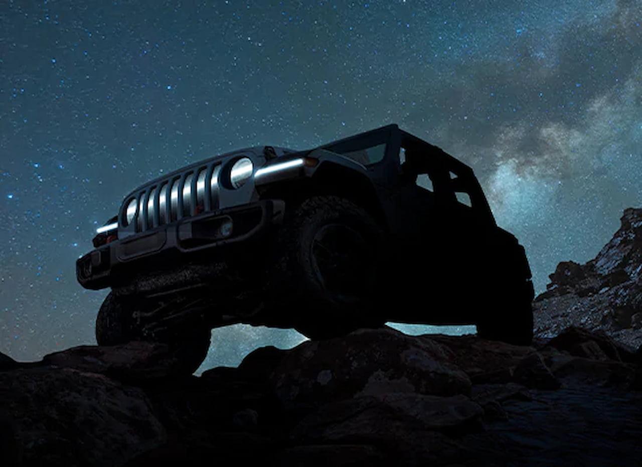 Jeep Wrangler EV teaser