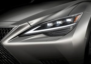 Lexus LS headlamp 2021