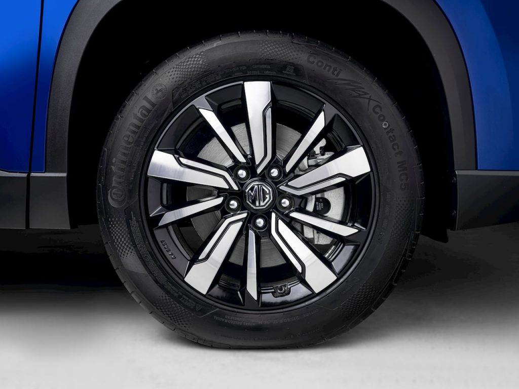 MG Hector Plus 6-seater alloy wheel image