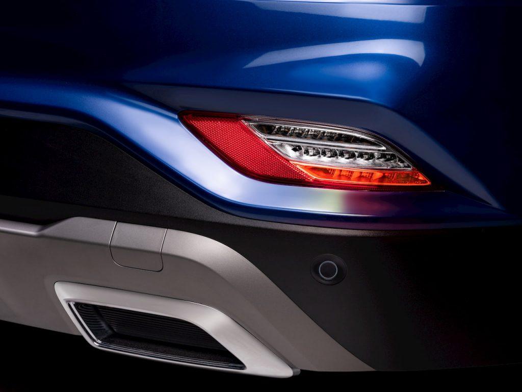 MG Hector Plus 6-seater rear foglamp image