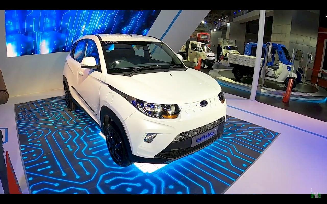 Mahindra eKUV100 exterior design