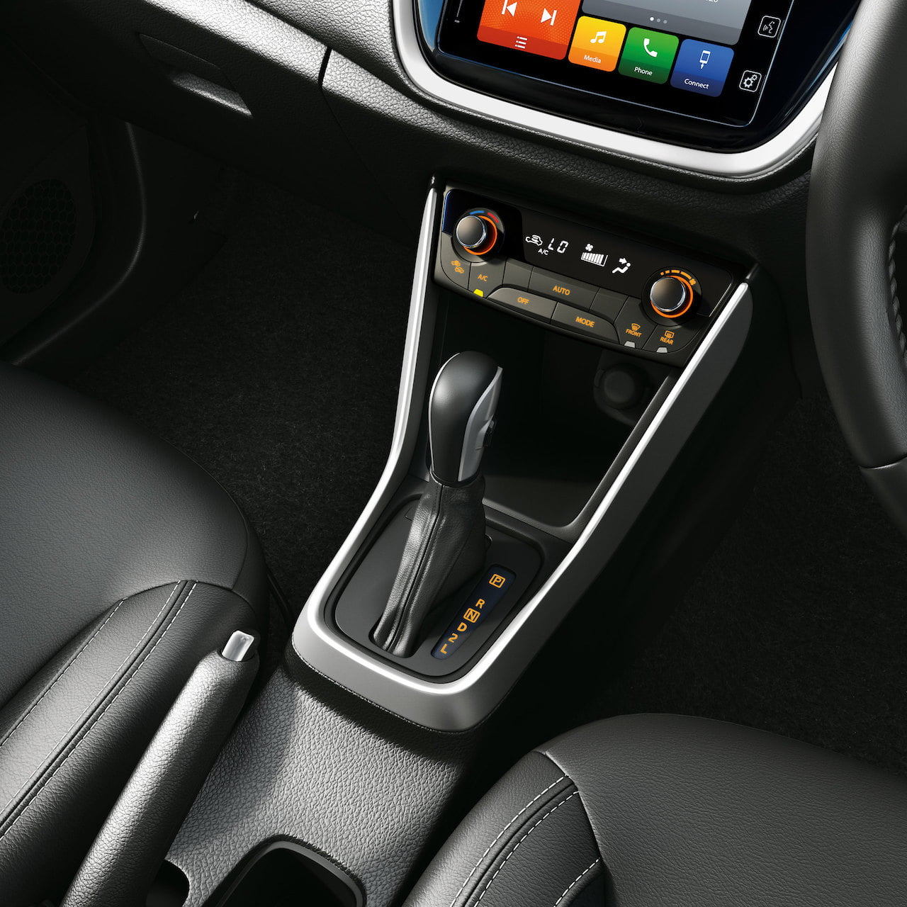 Maruti S-Cross automatic gearshift lever
