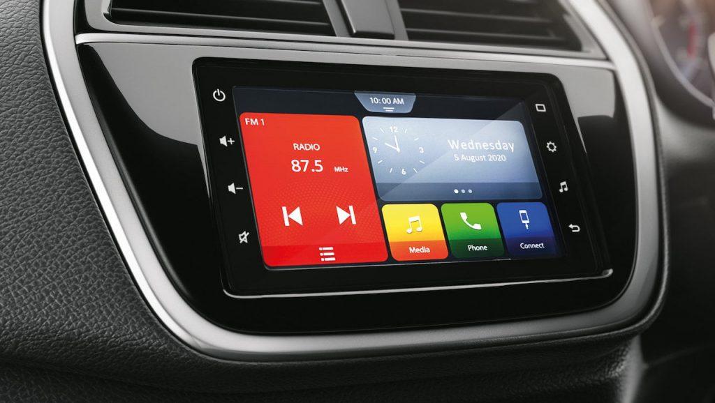 Maruti S-Cross mild hybrid petrol SmartPlay Studio infotainment system