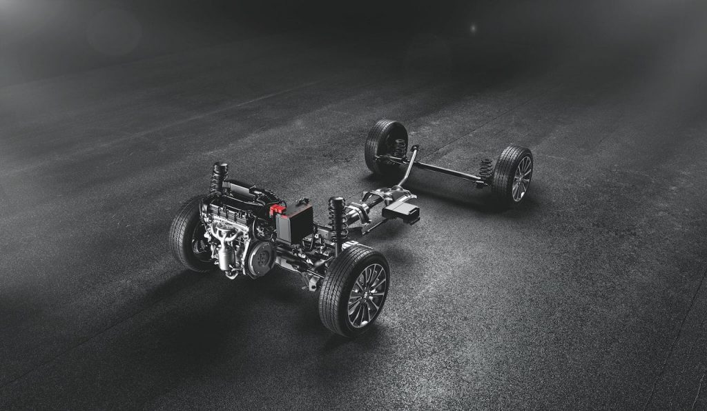 Maruti S-Cross mild hybrid petrol drivetrain