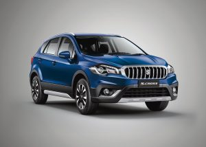 Maruti S-Cross petrol front three quarters