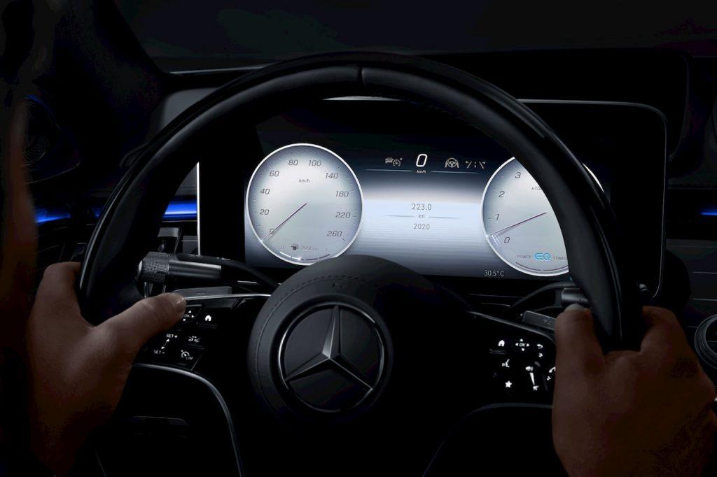 Mercedes S-Class 2021 W223 digital instrument cluster Classic