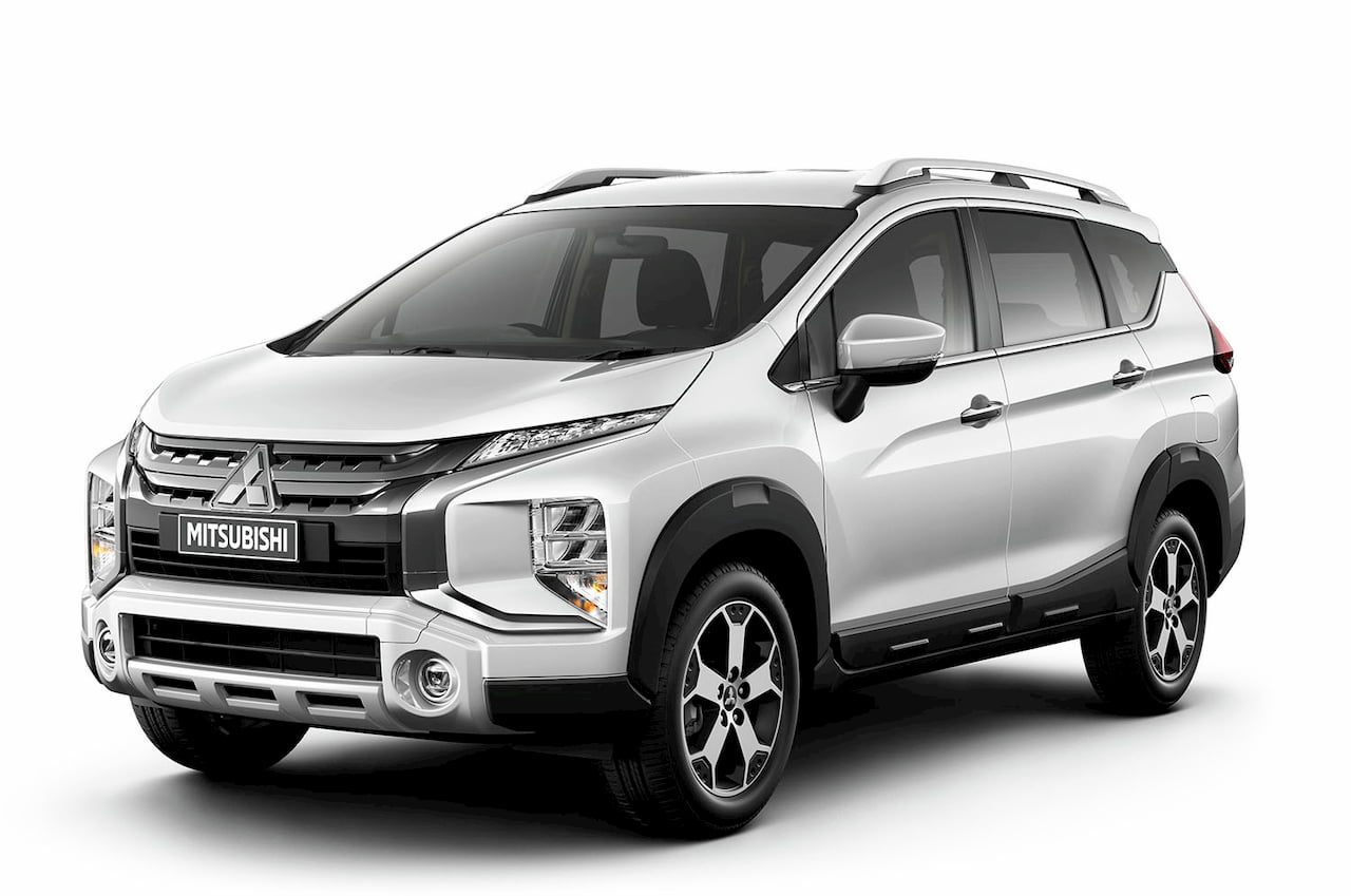 Mitsubishi Xpander Cross front three quarters