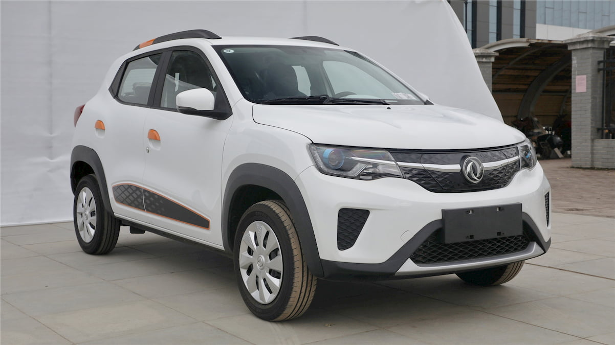 New Dongfeng EX1 front quarters
