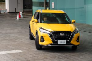 New Nissan Kicks e-Power facelift Sunlight Yellow