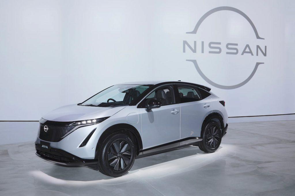 Nissan Ariya silver