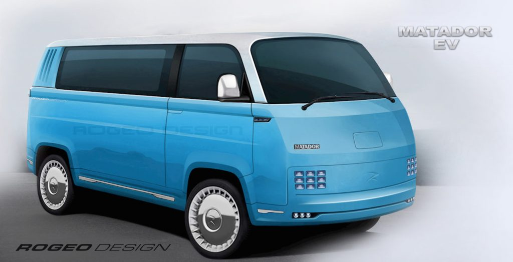 ROGEO DESIGN MATADOR Van Electric vehicle FRONT