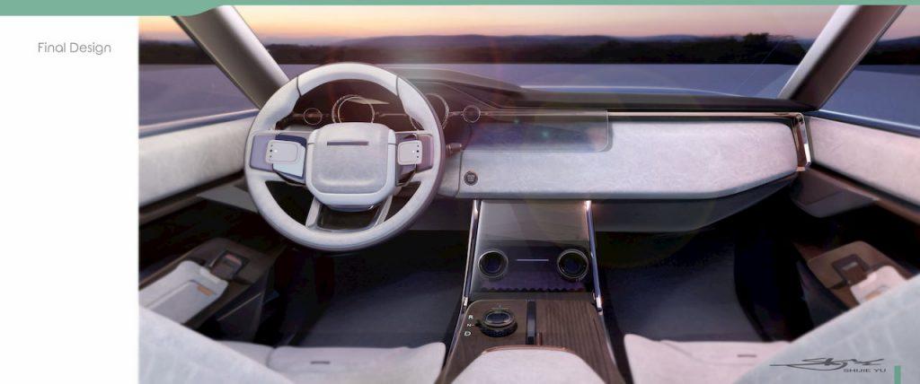 Range Rover Nouvel dashboard