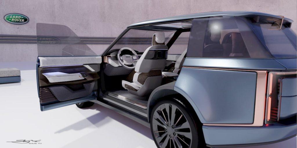 Range Rover Nouvel door open view 01