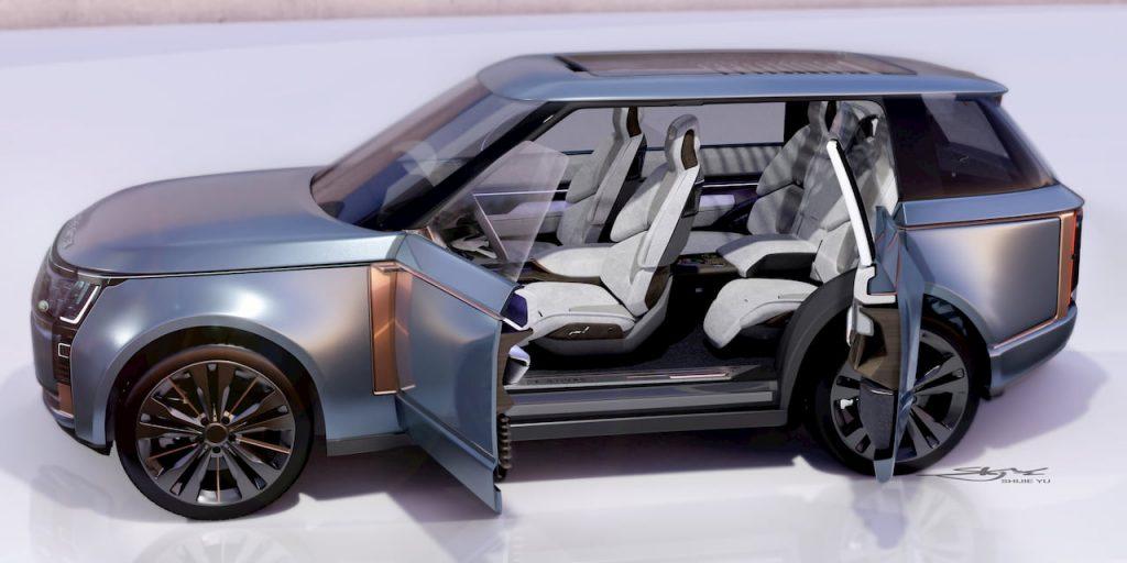 Range Rover Nouvel door open view 02