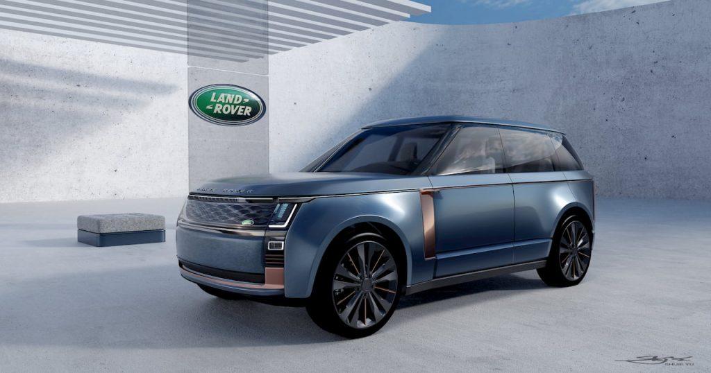 Range Rover Nouvel front quarter view