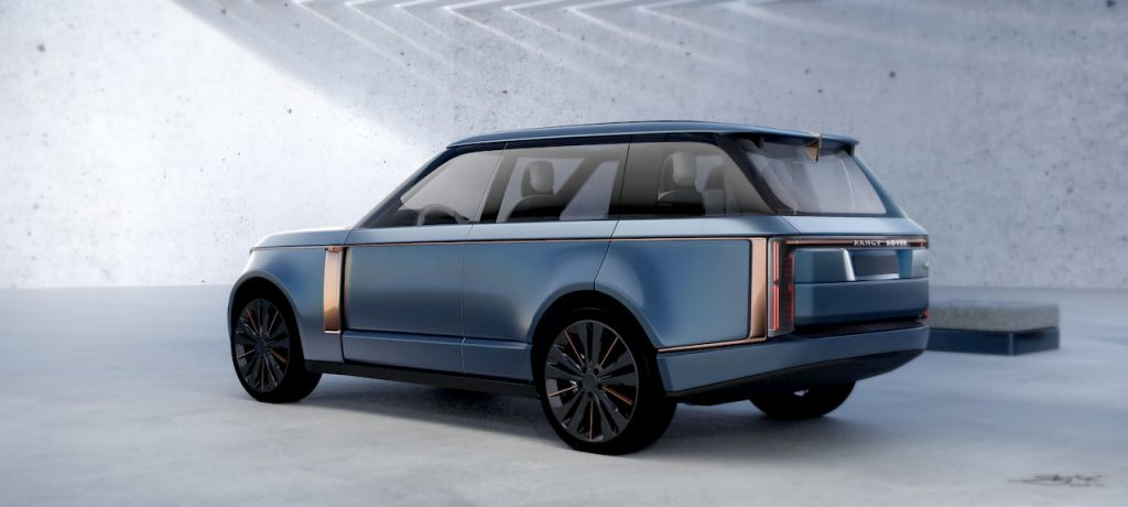 Range Rover Nouvel rear quarter view